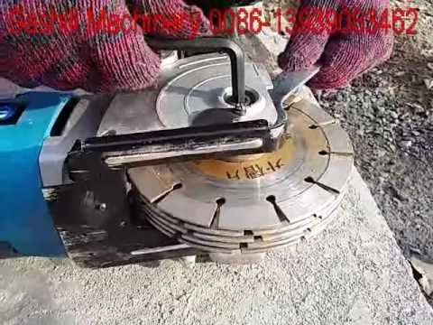1003 Model Wall Chaser Wall Groove Cutting Machine Youtube