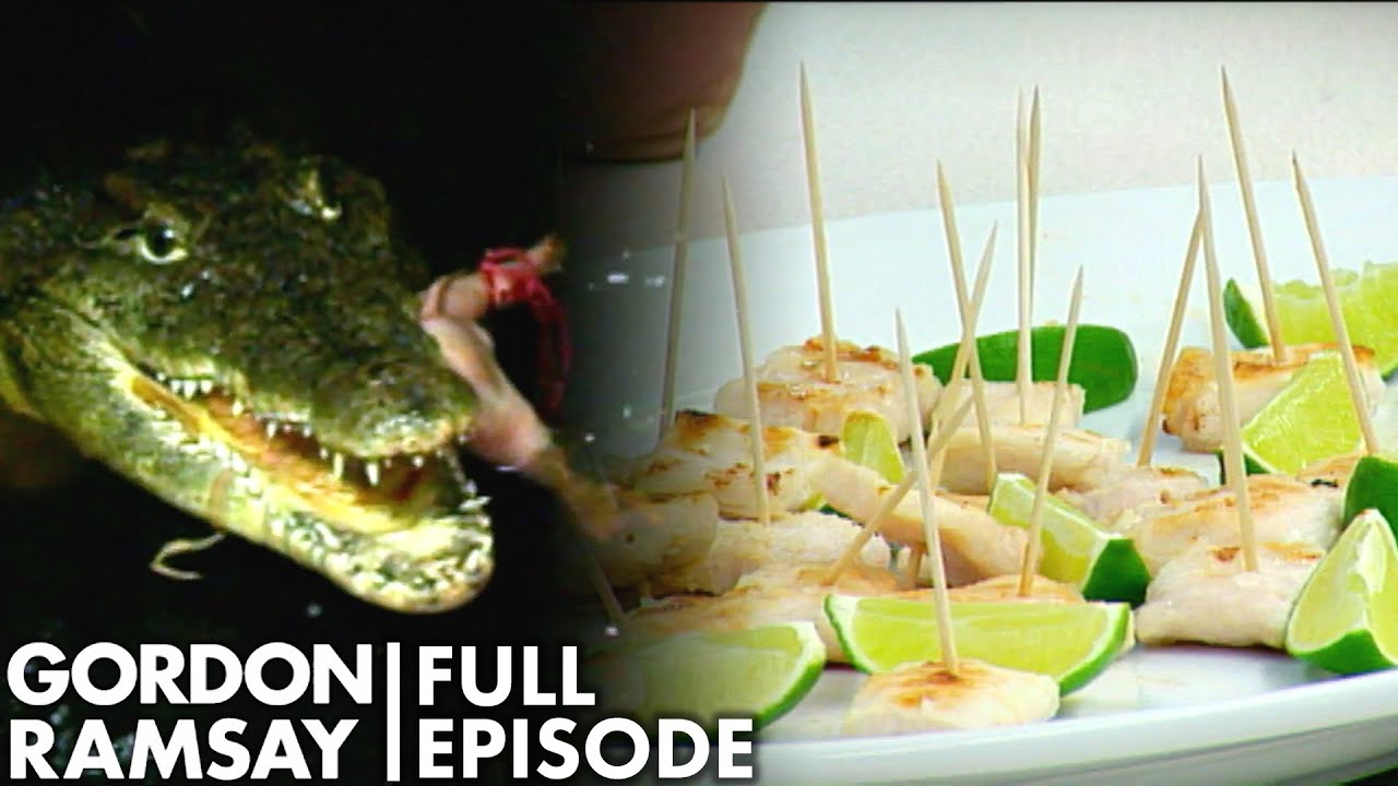 Gordon Ramsay Tries Crocodile | The F Word Full Episode