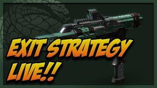 Destiny 2 | Exit Strategy Gambit Pinnacle Live!!!