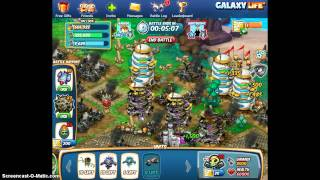 galaxy  life beat star base level 6 with 17 troops