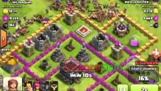 Village hdv 9 sans arc x + defance