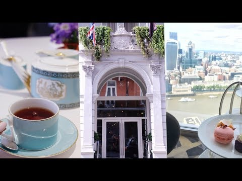 3 Best High Teas In London - Fortnum & Mason, Ting At The Shard, The Ampersand Hotel