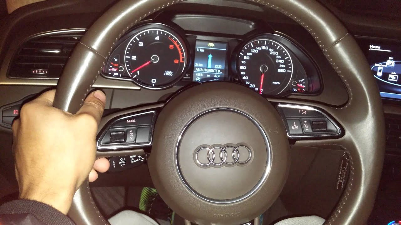 acceleration audi a5 2 0 tdi 170 2013 0 100 youtube. Black Bedroom Furniture Sets. Home Design Ideas