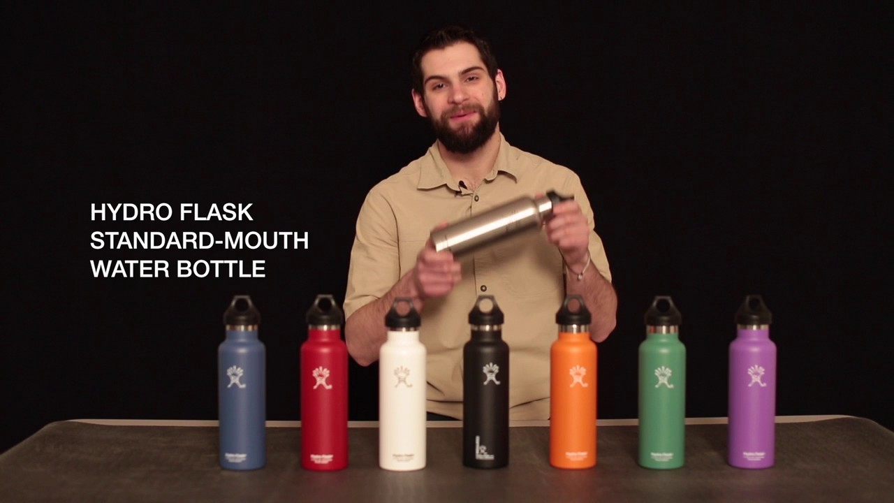 Hydro Flask Standard Mouth Water Bottle Youtube