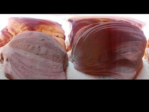 Phonography 360 : Peekaboo Slot Canyon - Kenab - Utah (37.180236, -112.561657) - Ambisonic 360 Sound