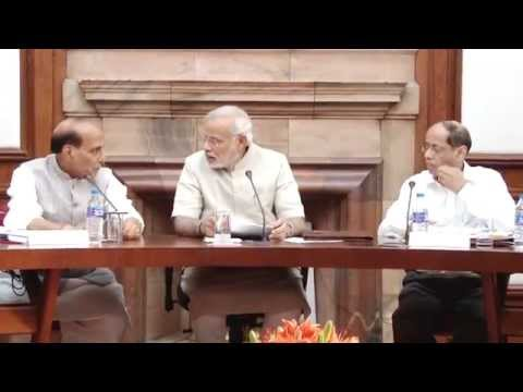 PM Shri Narendra Modi chairs first Cabinet Meeting