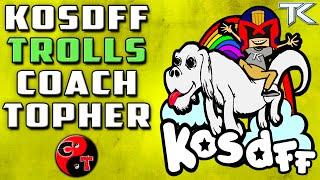 KOSDFF Trolls Coach Topher (Call Of Duty Gun Game)