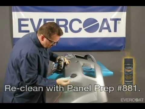 Reparación de plástico de un lado MAXIM™ 898 de Evercoat - spanish