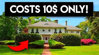 A Mansion Is On The Market For $10, And No One Wants To Buy It