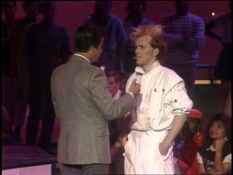 Dick Clark interviews Howard Jones- American Bandstand 1984