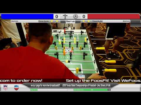 2019 Texas State Championships of Foosball - Saturday
