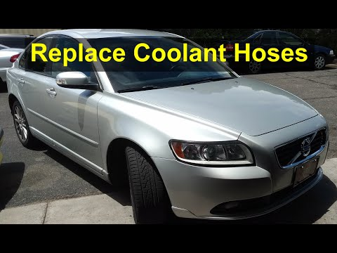 How to replace coolant hoses on a P1 Volvo, C30, S40, V40, V50, C70, etc. – VOTD