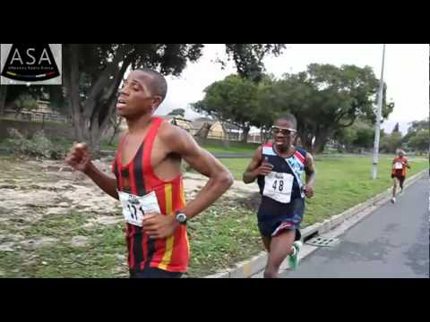 South African Half Marathon champs 2012