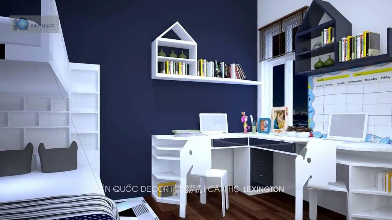 Thiết kế thi công nội thất căn hộ Lexington 2PN