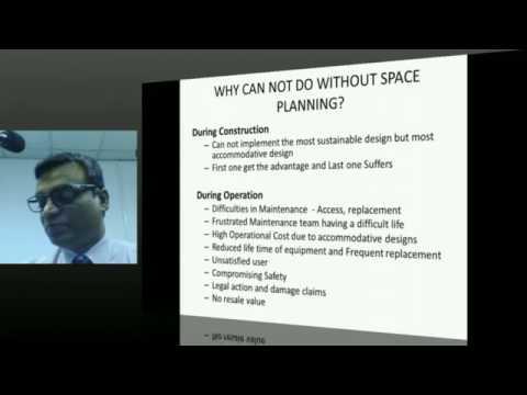 PUBLIC LECTURE : MEP Space Planning