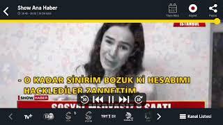 Sosyal medya çöktü  haberi (show tv)