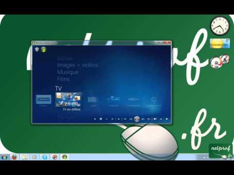 TV Avec Media Center Sous Windows 7