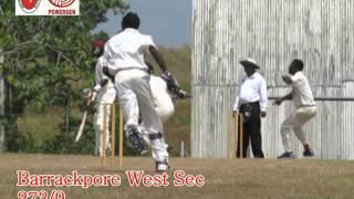 Premiership - Barrackpore West Sec vs Fyzabad Sec