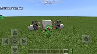 Minecraft  how to build a simple piston door