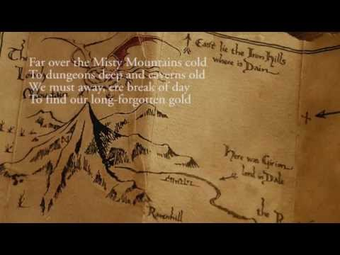 Misty Mountains + Over Hill (Richard Armitage & The Dwarf Cast) - The Hobbit OST 2012