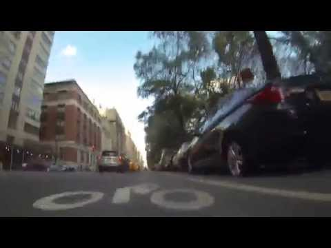 Making moves 101 Shredding Upper West Side w/ Chris Longboarding NYC GoPro
