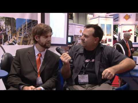 IAAPA 2011 Trade Show Part 1 Orlando Florida Theme Park Review Intamin S&S Gravity Group