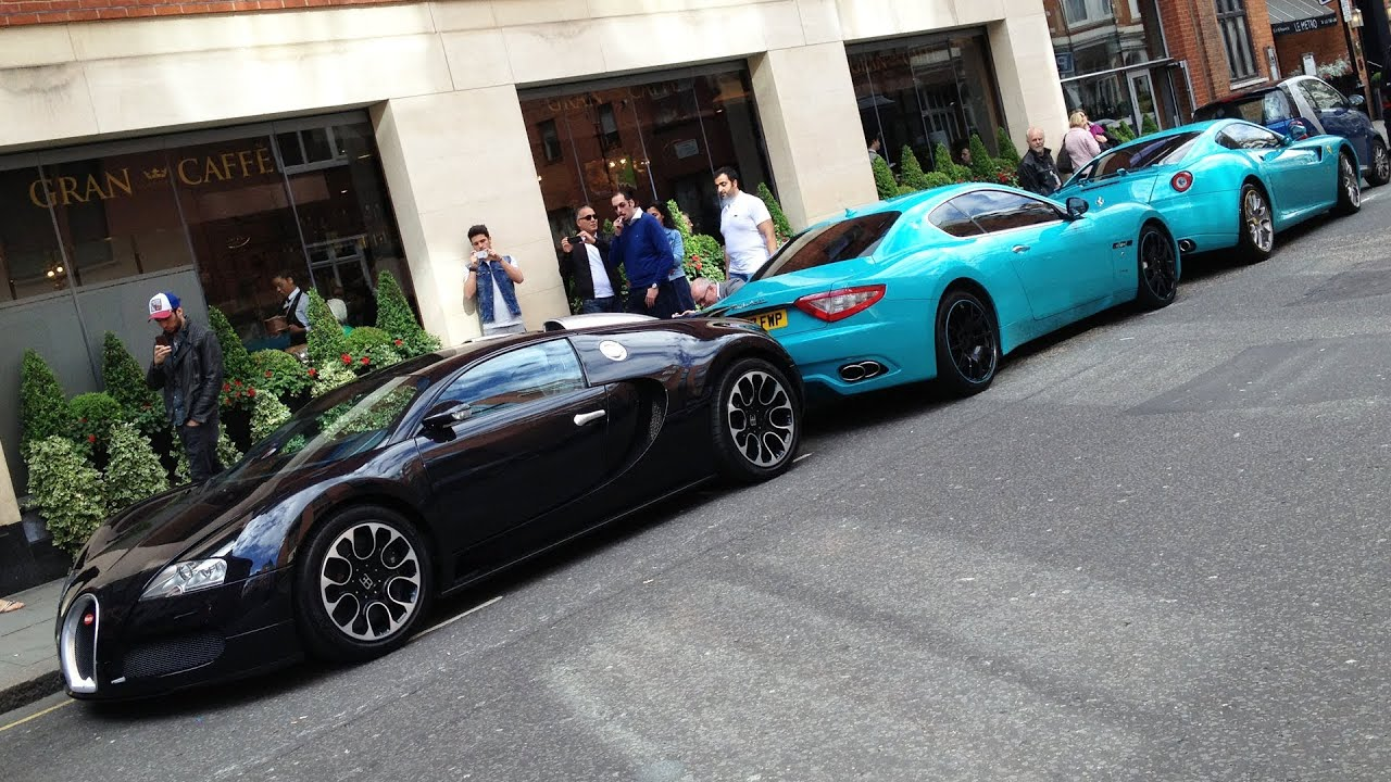 London Supercars In June Youtube
