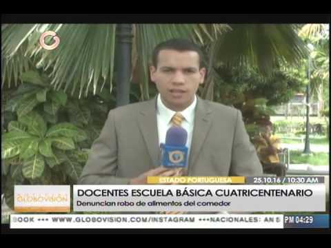 Delincuentes robaron alimentos de escuela básica en Guanare