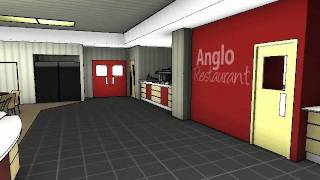 Restaurant And Bar Design Services - Anglo Continental - 3d Animation