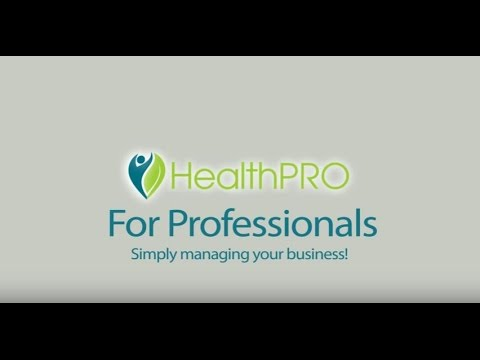 HealthPRO for Health Professionals