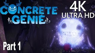 Concrete Genie - Gameplay Walkthrough Part 1 No Commentary [4K]