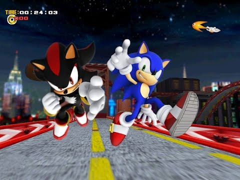 Sonic Generations Mod - Play as Shadow | GamersCast - YouTube  |Sonic Generations 2 Player Mode