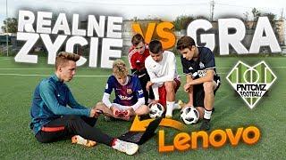 REALNE ŻYCIE VS GRA!! (FIFA19)   Piłka Nożna   PNTCMZ
