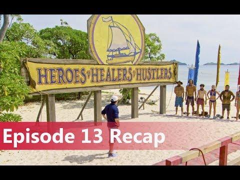 Survivor: Heroes vs. Healers vs. Hustlers Episode 13 Recap