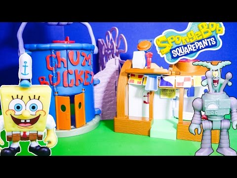 SPONGEBOB  Squarepants  the Imaginext Spongebob Krusty Krab Playset