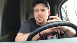 Werner Enterprises 1st full year in trucking... 1st ever video