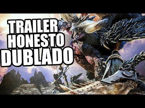 Monster Hunter World (Trailer Honesto Dublado Pt-Br)