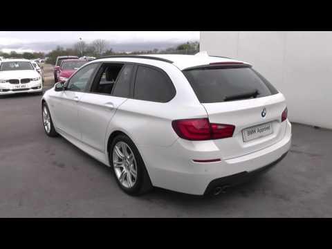 BMW 5 SERIES 520d M Sport 5dr Step Auto [Busi Media] [SS] U20640