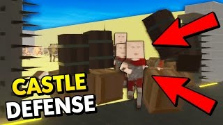 SUPER DIFFICULT CASTLE DEFENSE! (Paint The Town Red Funny Gameplay)