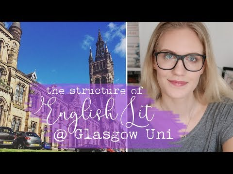 The Structure of English Literature @ Glasgow University