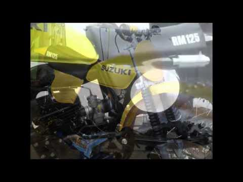 Repeat engine removal, top end, stator removal 1979 rm125 by