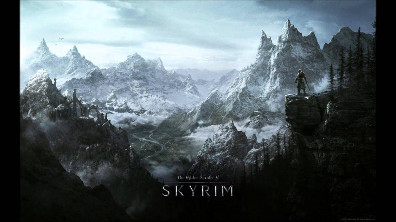 Skyrim Music Skyrim Atmospheres Youtube