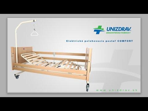 Elektrická polohovacia posteľ COMFORT - VIDEOMANUÁL