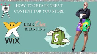 How to create content for your online store: Content Creation Lecture
