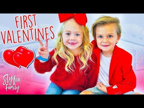 Caspian and Everleigh's First Valentine Date!! ❤️ | Slyfox F