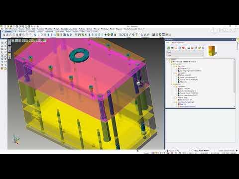 MOULD - Tool design | VISI 2022.0