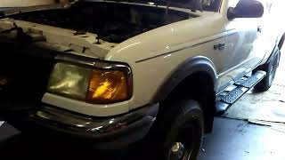 1997 Ford Ranger 4.0l manual and Autozone Duralast slave cylinder!