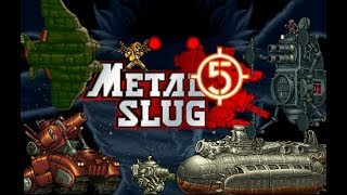 Metal Slug 5 Gameplay Super Army