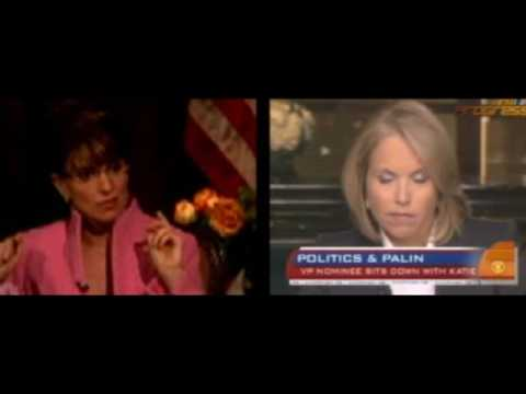 Palin Just Won't Go Away, so Neither Will This SplitScreen Epic!  (from the 2008 Election)