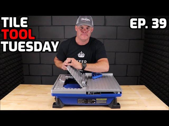 kobalt sliding tabletop tile saw review